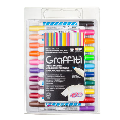 GRAFFITI FABRIC 30 PIECE SET