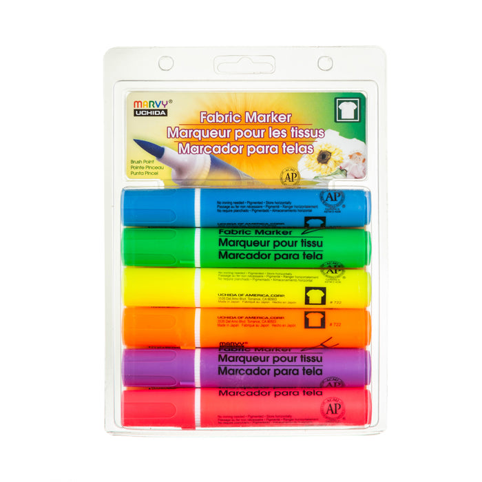 FABRIC MARKER BRUSH SETS - Marvy Uchida