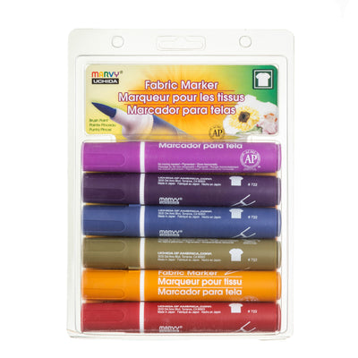 FABRIC MARKER BRUSH SET D