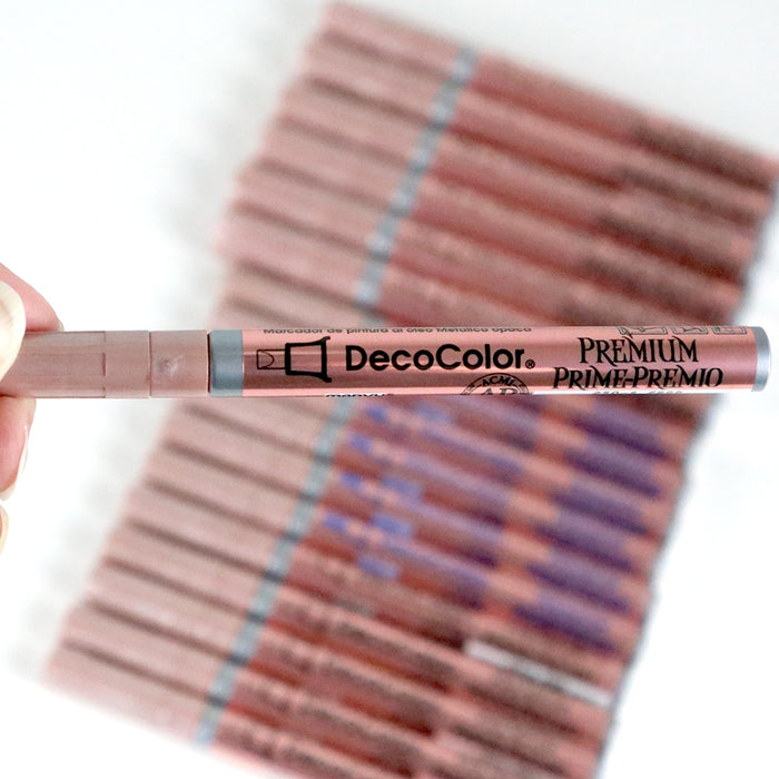 DECOCOLOR® PREMIUM FINE TIP - ROSE GOLD - Marvy Uchida