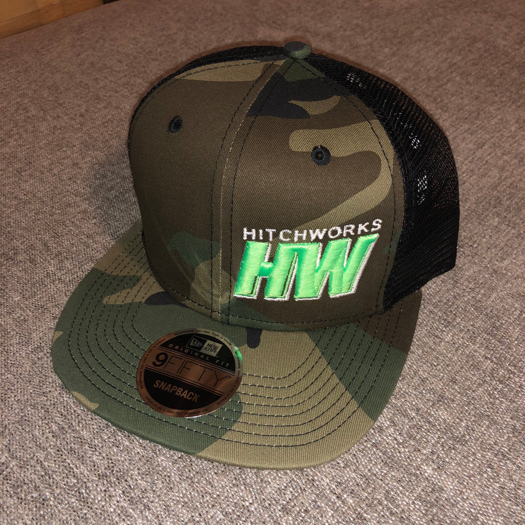 Hitch Works Camo Snap Back