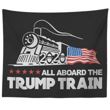 Load image into Gallery viewer, Trump Train 2020 Wall Tapestry