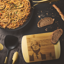Load image into Gallery viewer, Donald Trump Cutting Board (Great Cook)