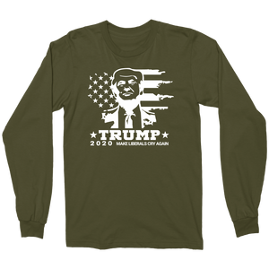 Trump 2020 Make Liberals Cry Official Military Shirt