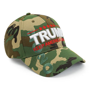Trump 2020 K.A.G. Jungle Camo Hat
