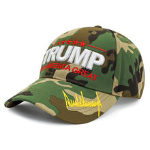 Load image into Gallery viewer, Trump 2020 K.A.G. Jungle Camo Hat