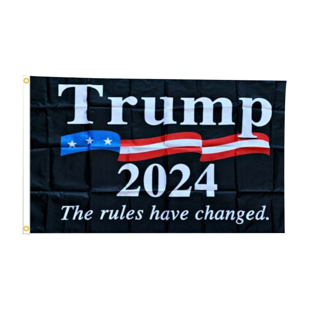 Trump 2024 Rules Changed Flag
