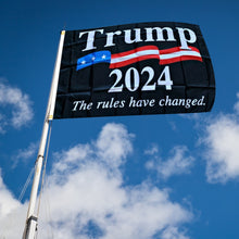 Load image into Gallery viewer, Trump 2024 Rules Changed Flag