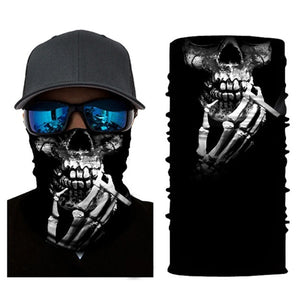 Skeleton Hands Face Mask