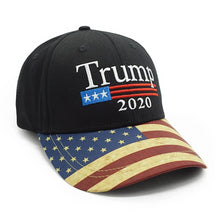 Load image into Gallery viewer, Trump 2020 Vintage US Flag Hat