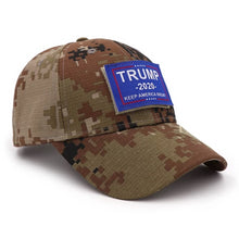 Load image into Gallery viewer, Trump 2020 Blue Patch Hat