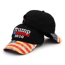 Load image into Gallery viewer, Trump 2020 USA Flag Hat