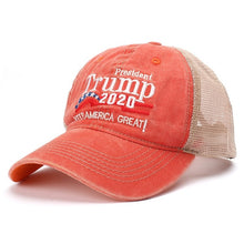 Load image into Gallery viewer, Trump 2020 Trucker Hat