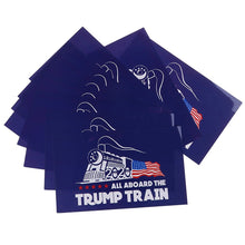 Load image into Gallery viewer, Trump Train 2020 Bumper Sticker (Set of 10)