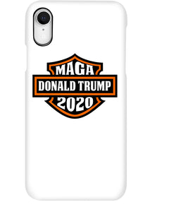 Trump MAGA Biker 2020 Phone Case
