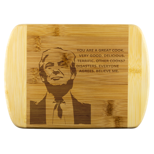Donald Trump Cutting Board (Great Cook)