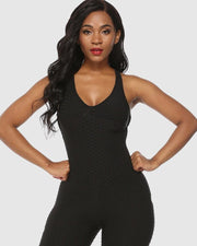 Anti-Cellulite Scrunch Jumpsuit