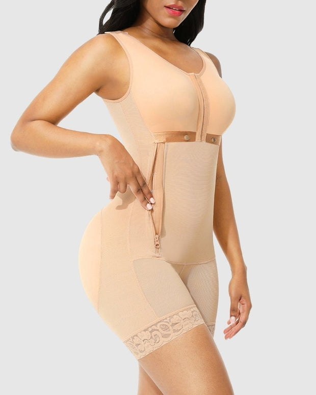 Booty & Bust Full Body Shaper - Side Zipper