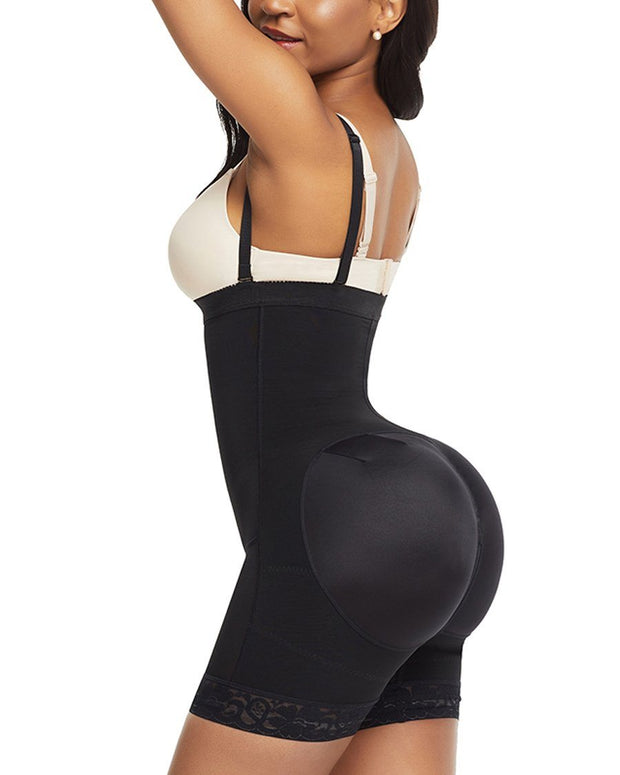 Booty Boosting Body Suit - Side Zipper