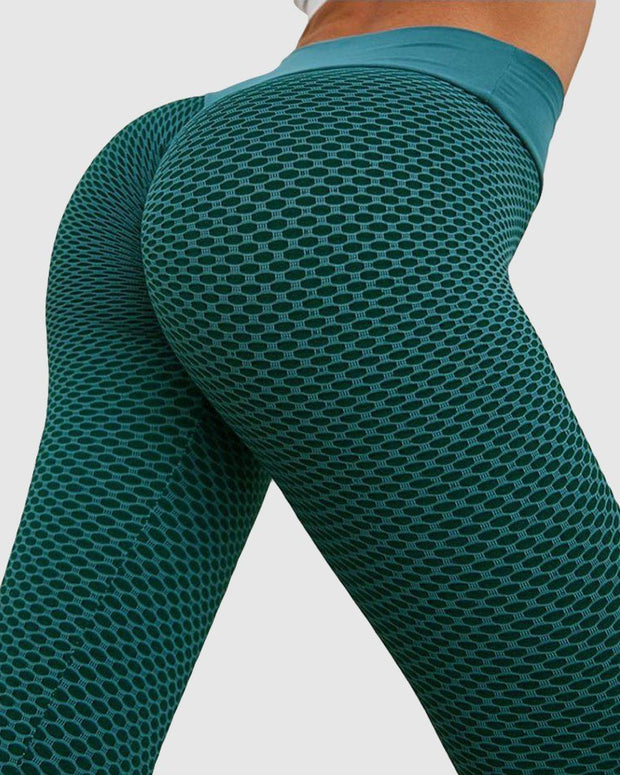 Lifted Textured Scrunch Leggings