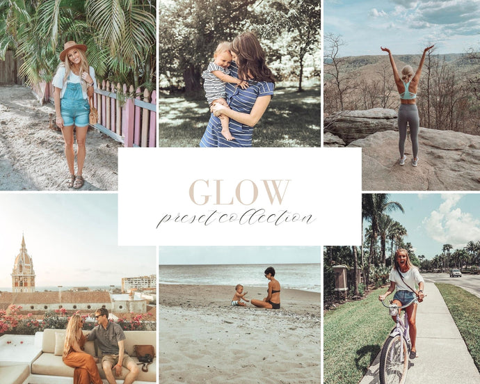 Glow Mobile Preset Bundle