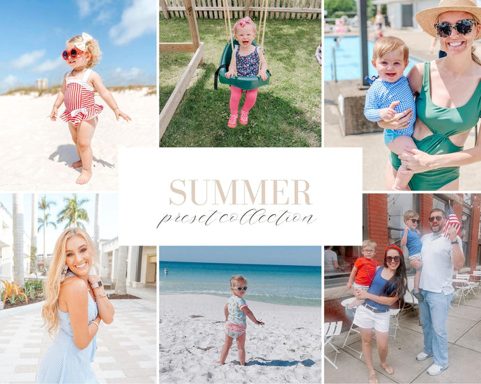 Summer Mobile Preset Bundle