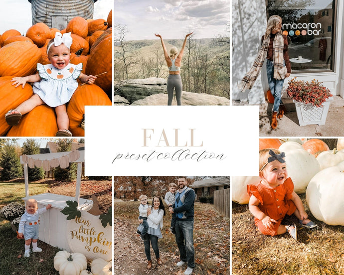 Fall Preset Collection