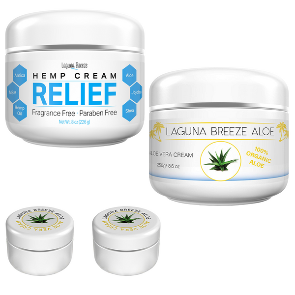 Bundle Hemp and Aloe Combo