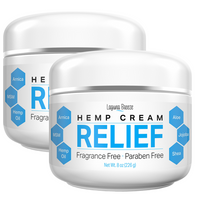 2 pack - Hemp Relief Cream