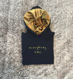 Everybody Eats - Gold Silk Hoodie