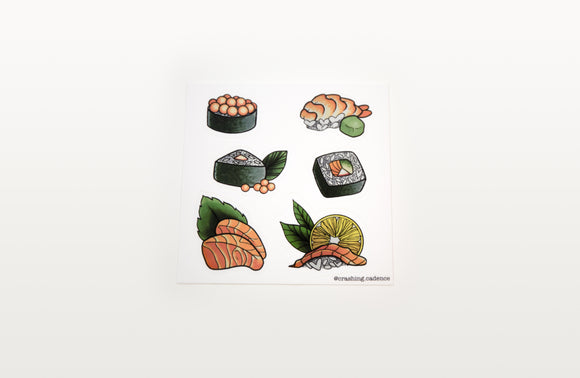 Sticker - Sushi Sheet