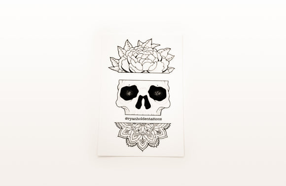Sticker - Skull Mandala