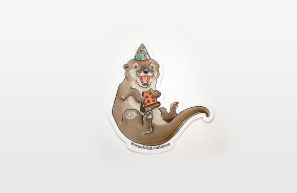 Sticker - Party Otter