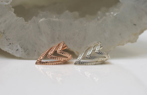 20% OFF APPLIED AT CHECKOUT - Pointed Chevron Ear Cuff