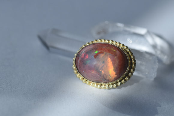 Fire Opal - Pressure Fit End Only
