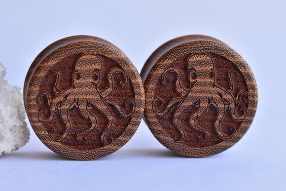 Omerica Organic Octopi DF plugs - Pair