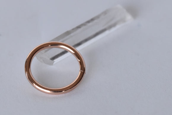 Gold Continuous Ring