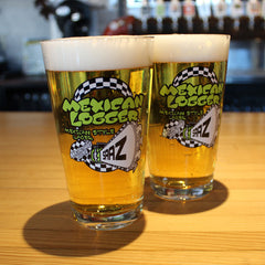 Mexican Logger Pint Glass