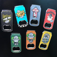 Ska Can-Shaped Bottle Opener Magnets