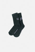 "Load image into Gallery viewer, ""SCF/FRS"" Green Socks"