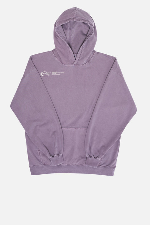 "Grape ""Basic Logo"" Hoodie"