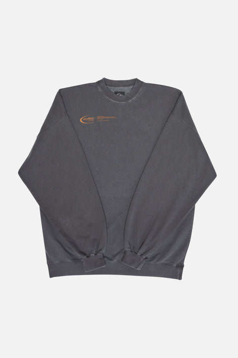 "Washed Stone ""Basic Logo"" Sweatshirt"