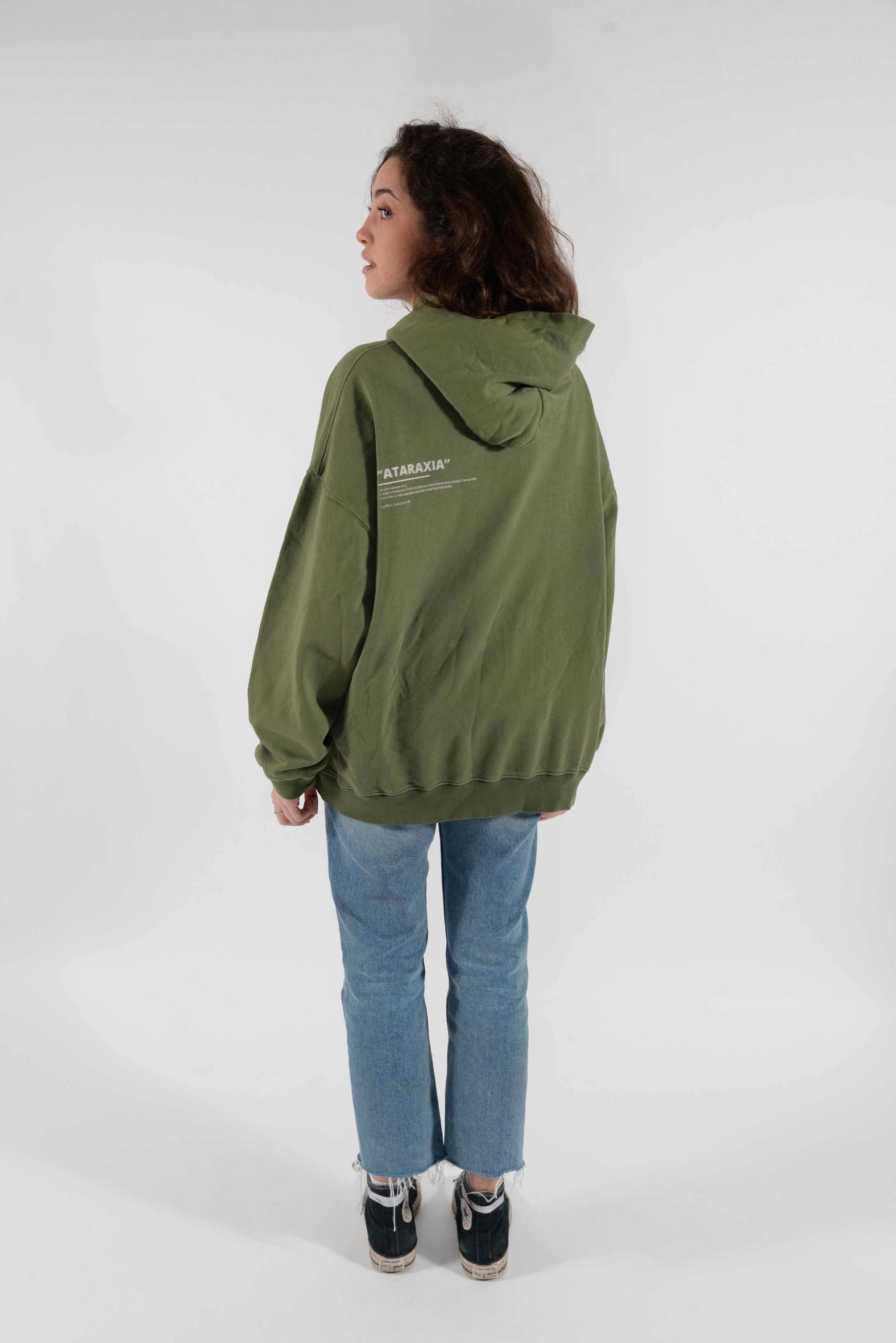 Ataraxia Hoodie Burnt Olive - Scuffers