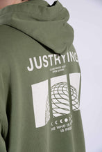 Load image into Gallery viewer, Stained Hoodie Burnt Olive - Scuffers
