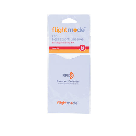 Flightmode RFID Passport Sleeve - Keep your passport safe from identity thieves with this light weight RFID Passport Sleeve. Made from water and tear resistant material.