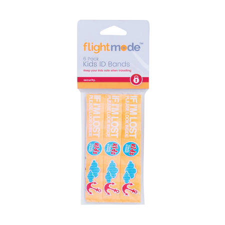 Kids ID Band 6 Pack Default Title 7.95 AUD Flightmode