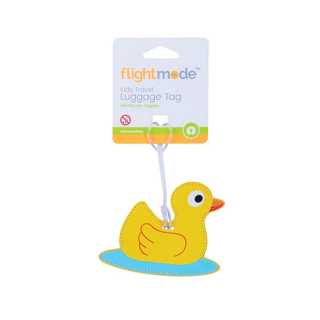 Flightmode Kids Luggage Tag - These kids luggage tag makes it easy to find your bag in the crowd. With a handy ID card and clear ID window, your bag can be easily identified and returned to you if it is lost. With 4 fun designs, your bags will always be easy to find! Dimensions: 9.8cmH x 11.3cmW x 0.3cmD - 3 Deisgns Assorted - Owl, Monkey, Dog