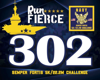 Military Series: Navy #2 5K/22.2 Mile Challenge Virtual Race