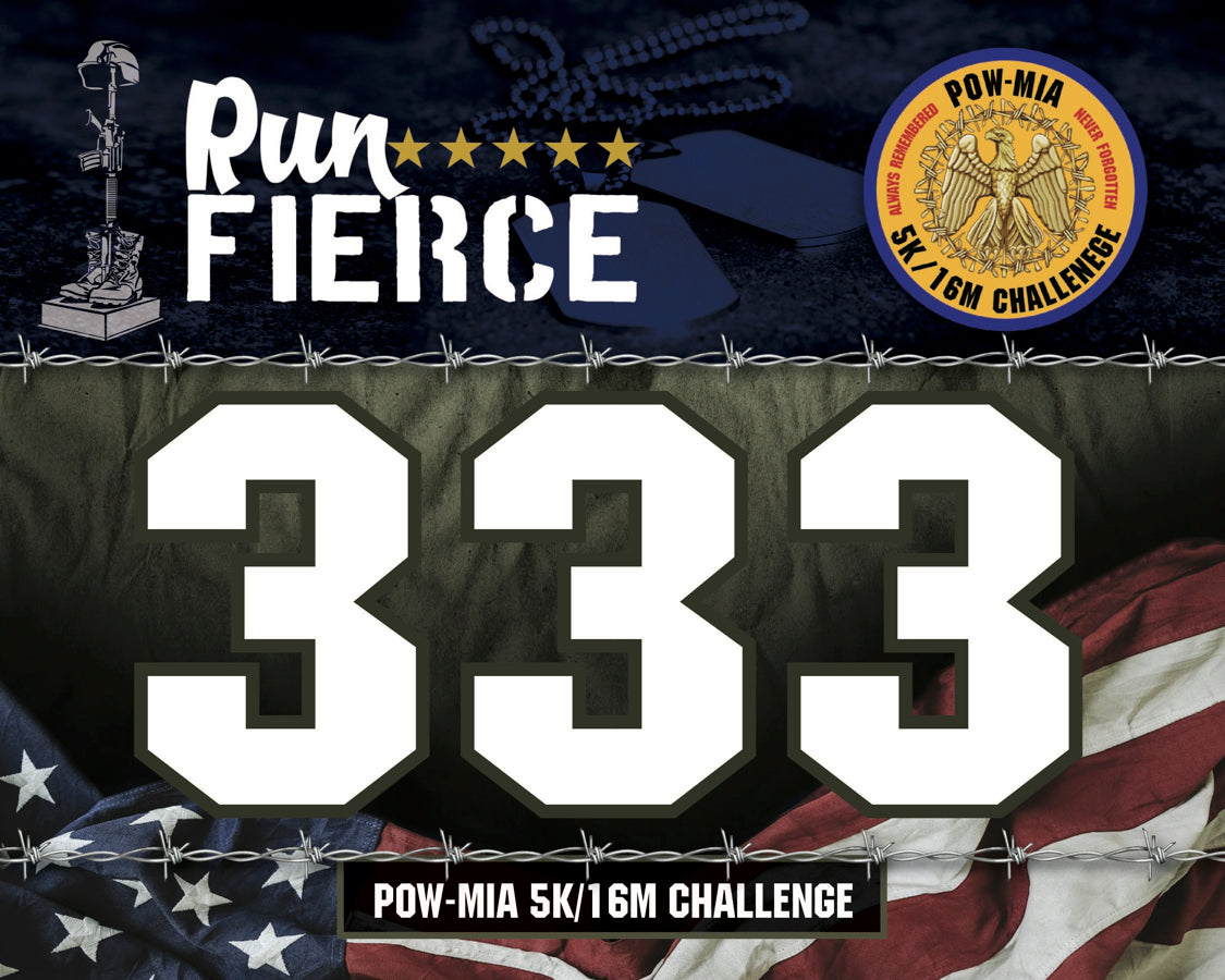 Virtual Race Bib for POW MIA Race