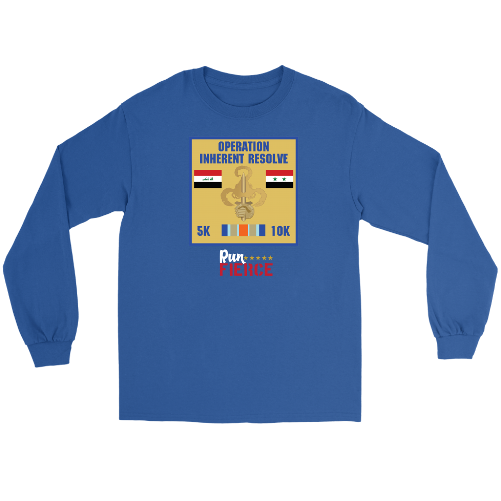Military Series–Operation Inherent Resolve 5K/10K Long Sleeve Tee